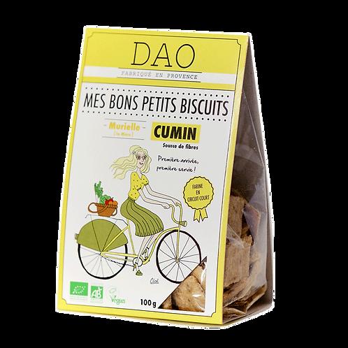 Biscuit apéritif cumin - Dao