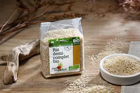 Riz brun de Camargue - Vert Coquelicot