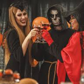 Halloween Costume Party (must be 21+)