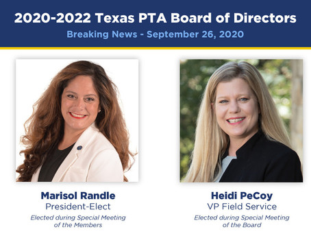 Breaking News at Texas PTA
