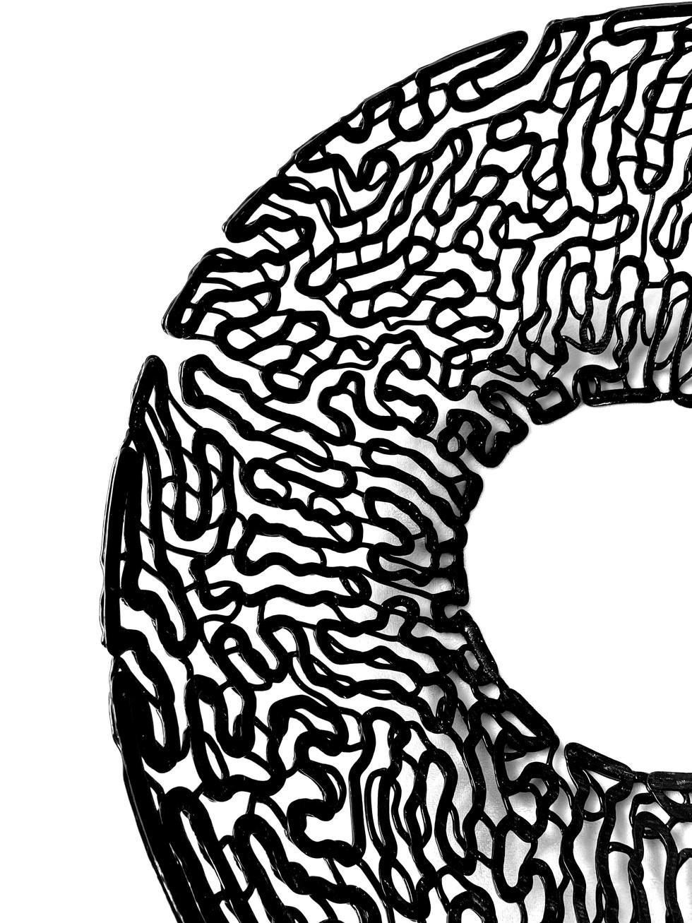Black Print Detail