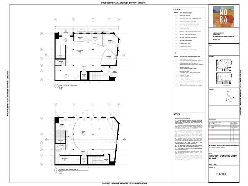 Interior Construction Plan