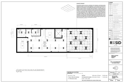 Ceiling Plan - Basement