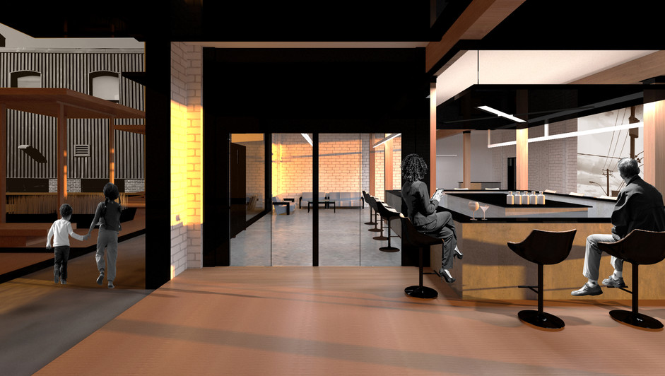 Indoor-Outdoor Cafe