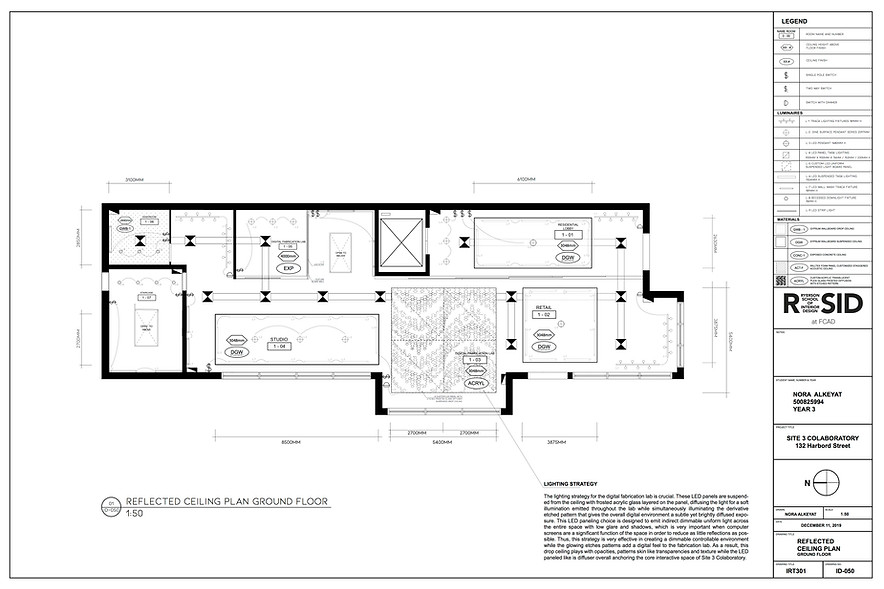 Ceiling Plan - Ground Floor
