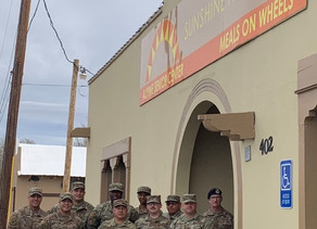 Thank you Texas Air National Guard from El Paso, Texas!