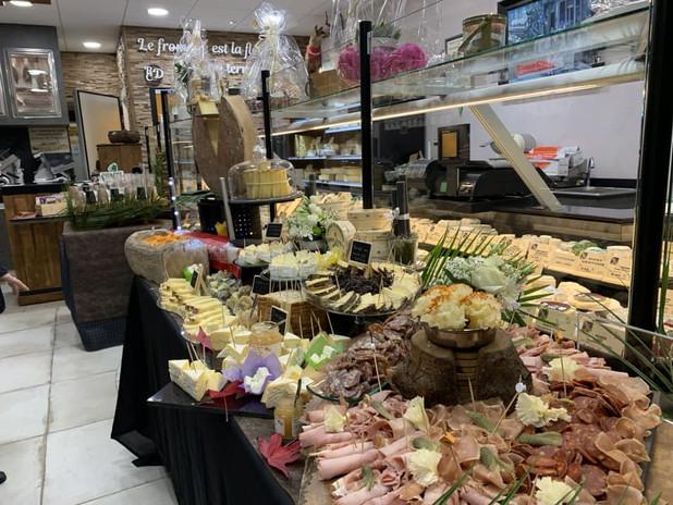 Inauguration de la fromagerie