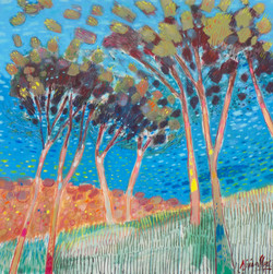 Tall Trees over the Sea