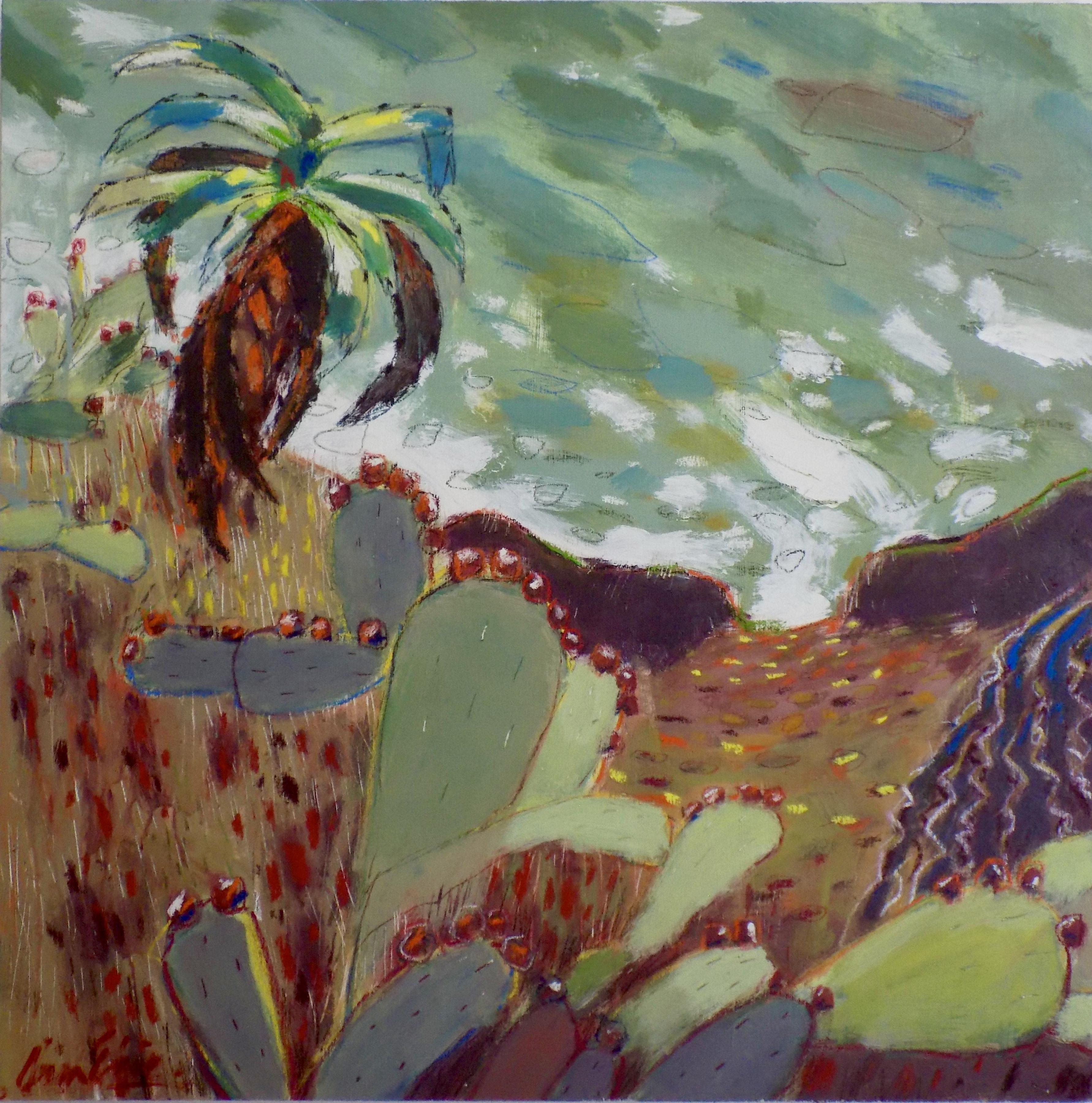 Cactus Seascape