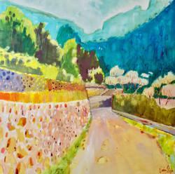 A Path Up The Traumantana Mountains