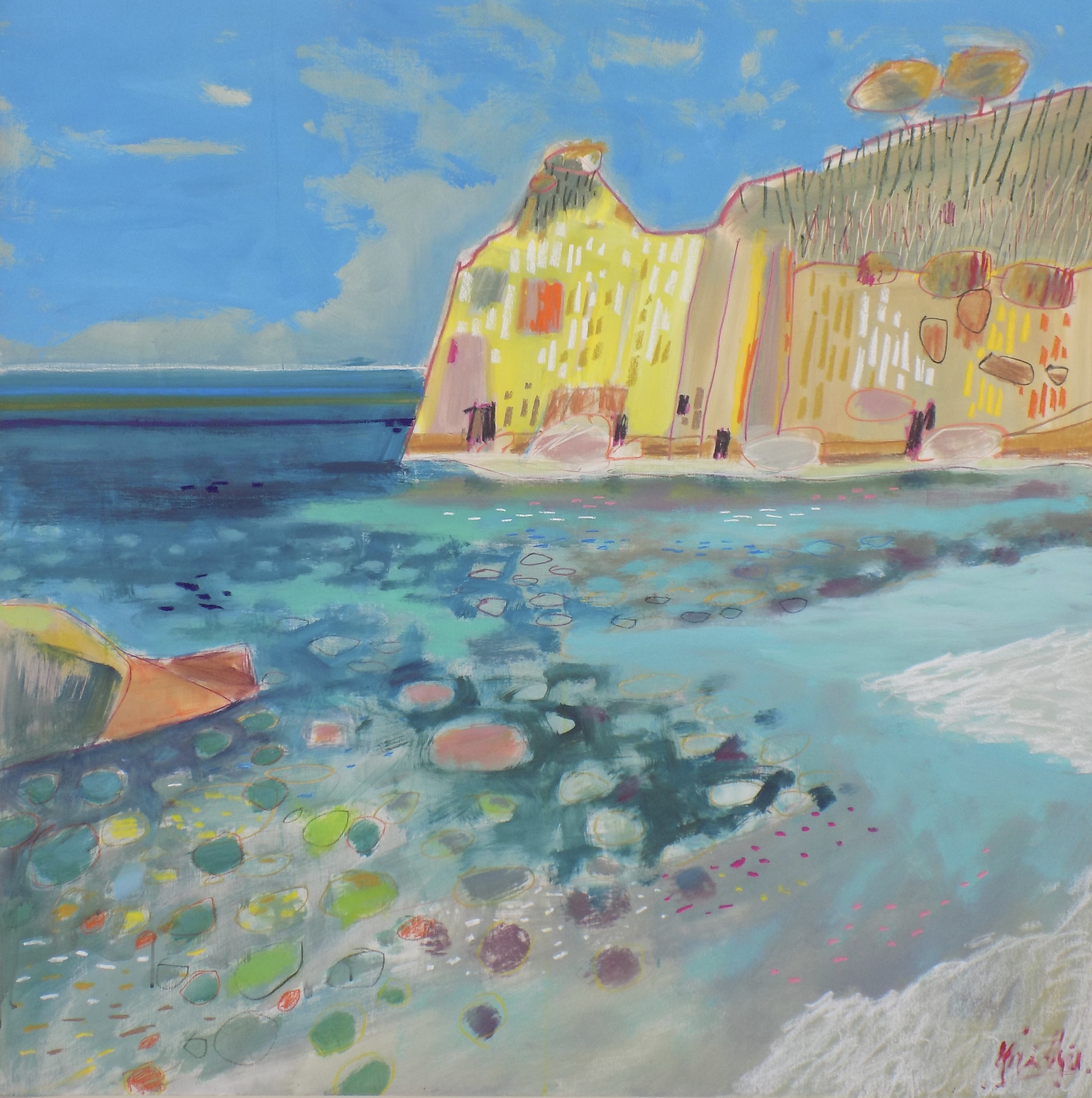 Deia Coastline