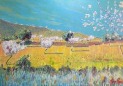 Among the Almond Blossom, Calvia