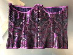 Veritable corset ton violet