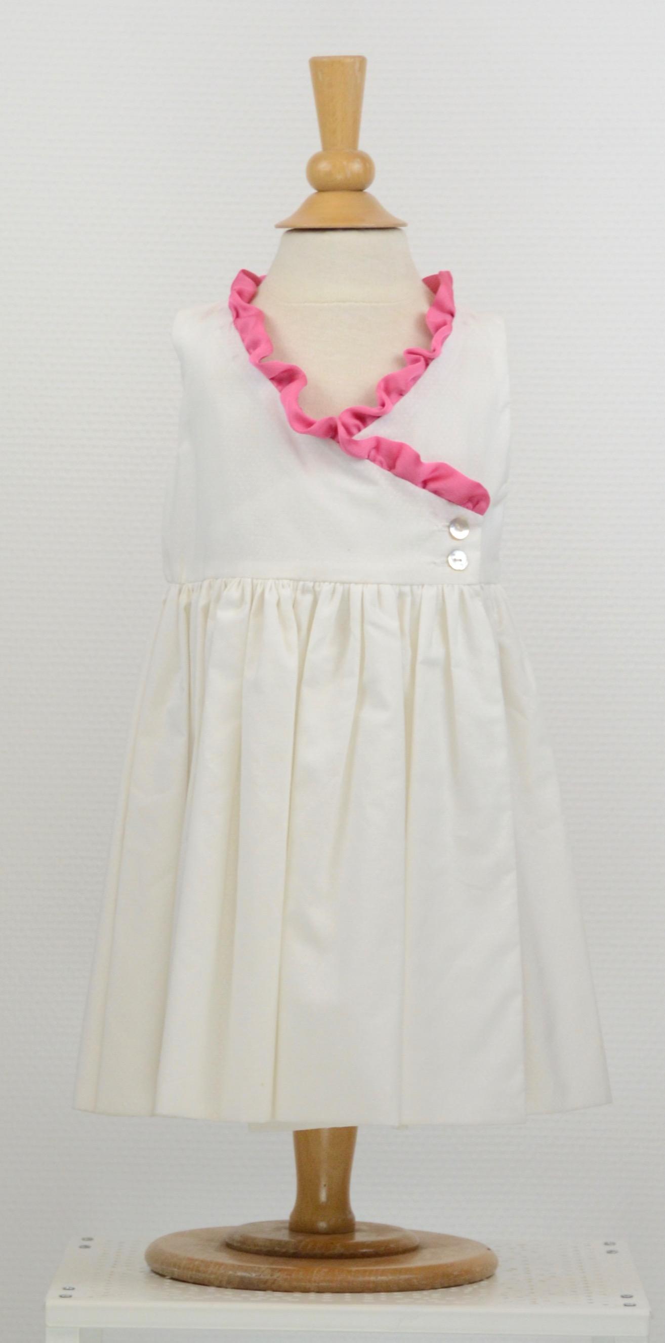 Robe enfant rose