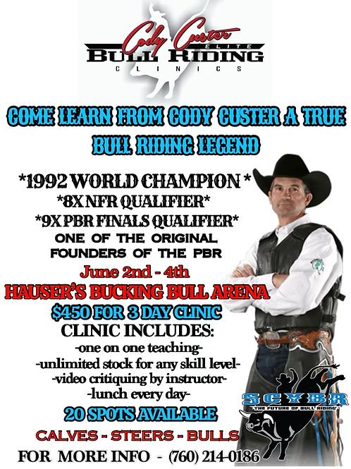 Cody Custer Clinic