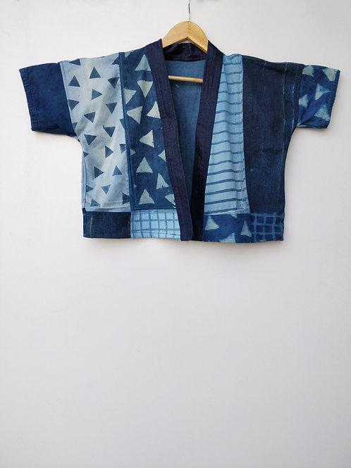 Patch Printed Kimono
