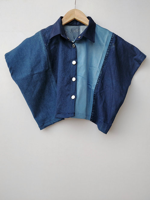 Patch Jeans Shirt