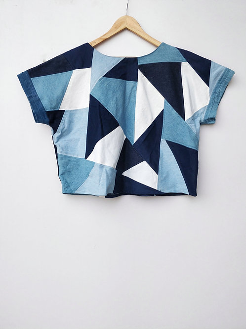 Patch Colorblock Top