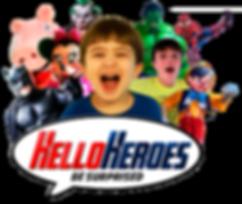 Hello Heroes Personagens vivos Florianópolis
