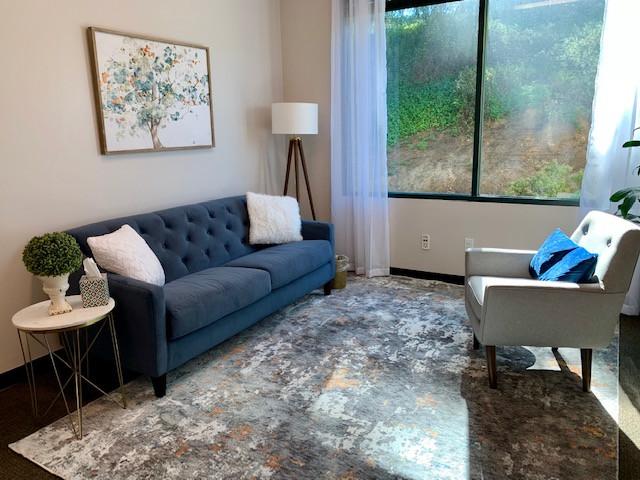 Therapy office in Encinitas, CA