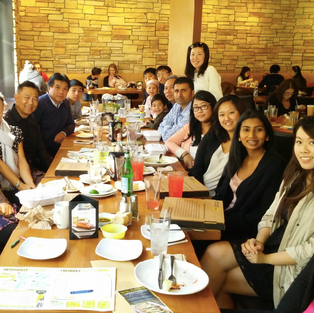 Office Luncheon at California Pizza Kitchen