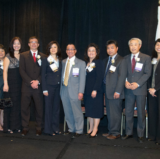 Orange County Asian American Bar Association Installation Dinner - Past Presidents