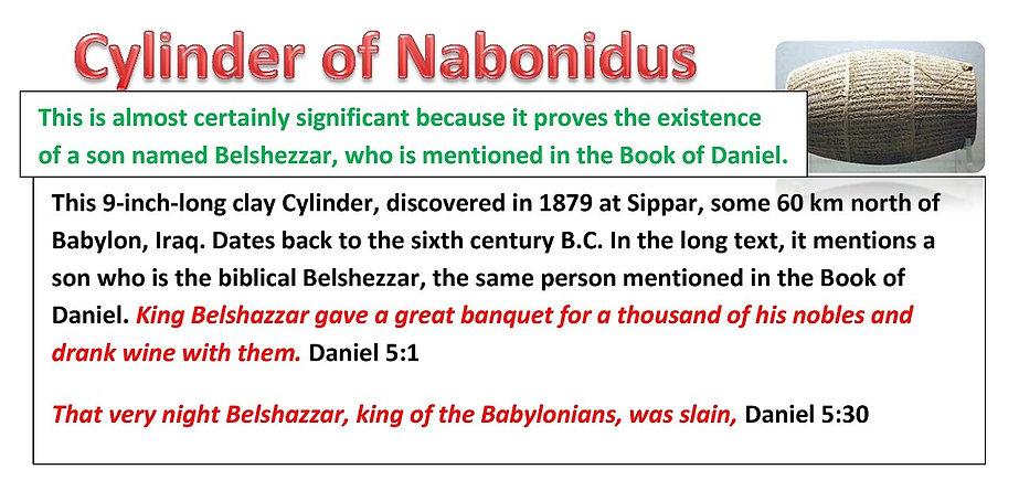 Cylinder of Nabonidus
