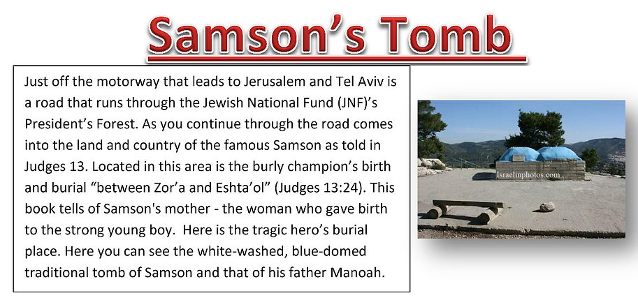 TOMB OF SAMSON