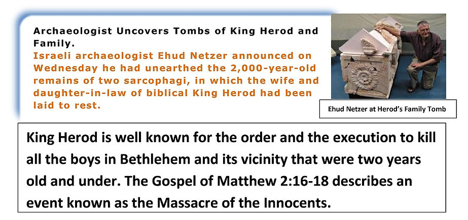 King Herod's Tomb Discoveried