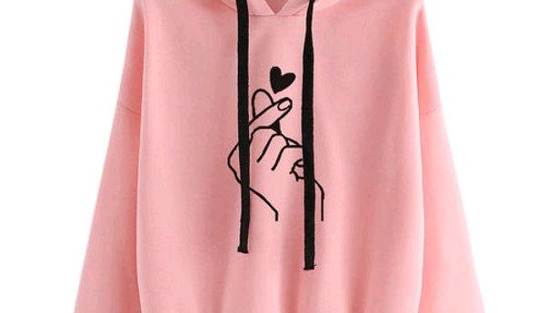 Sweatshirt Pink by StreeShop