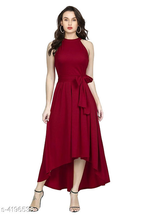 Red Gown By StreeShop