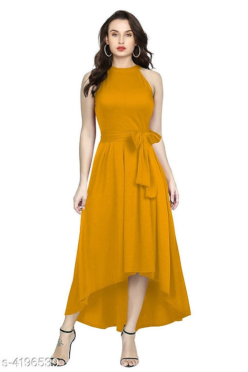 Mustard Gown by StreeShop