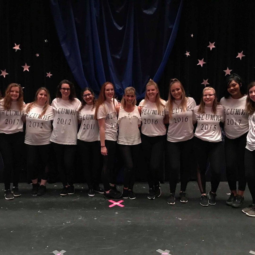 Alumni at Recital 2018