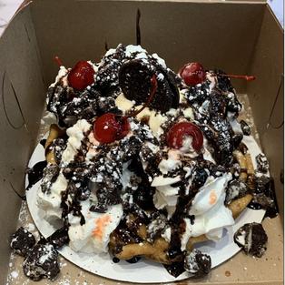 Oreo Funnel Cake