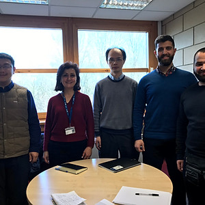 Nanolab Members Meeting with ARU International Collaboration Head