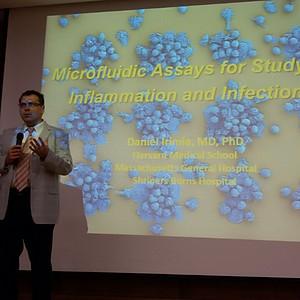Dr. Daniel Irimia Visit to GJU and the NanoLab.
