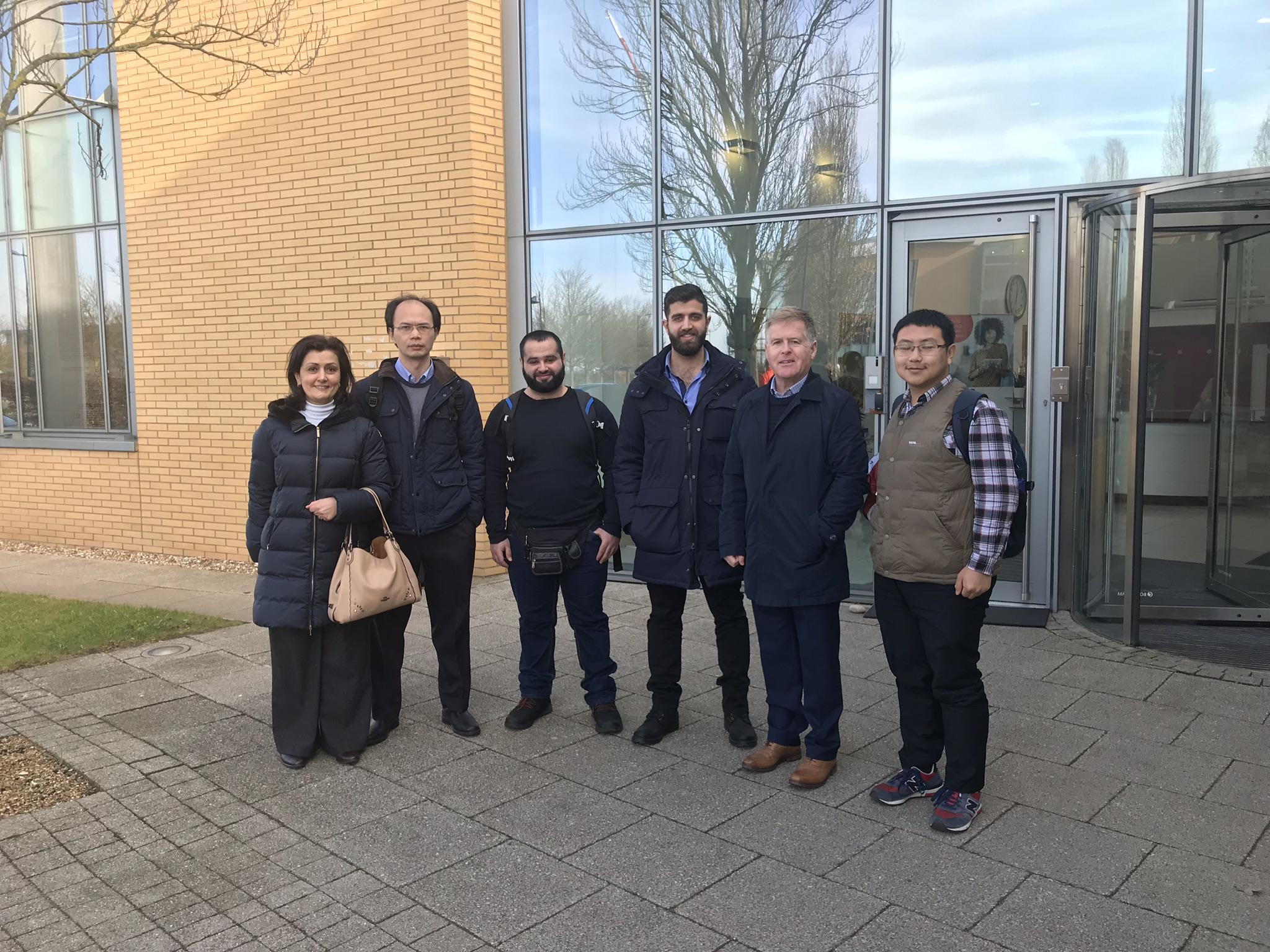 Nanolab Visit to UK