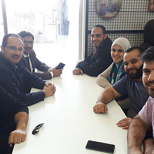 Dr. Ishaq Ahmad Visit to The Nanolab
