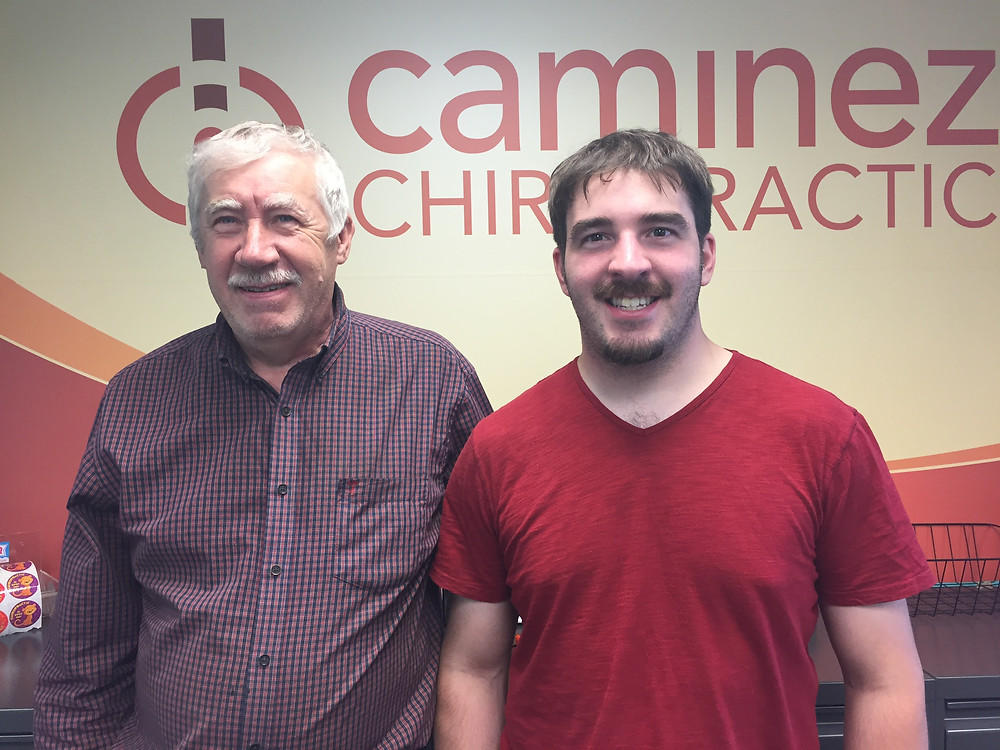 Caminez Chiropractic Patients of the Month for August 2017