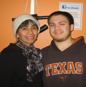 Andrea's January Patients of the Month: Carmen and Brandon