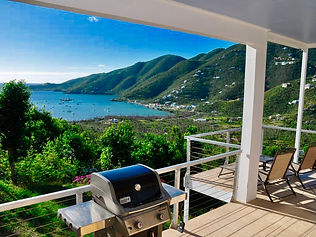 Coral Livin' - Barbequing with a view