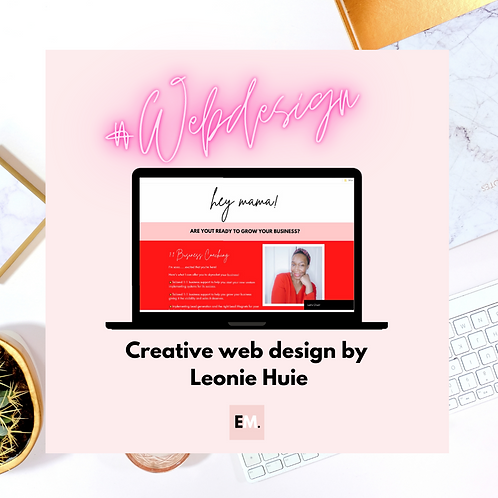 Web Design For Mums In Business