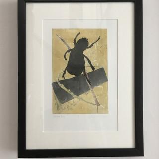 Glitter Bug (framed)