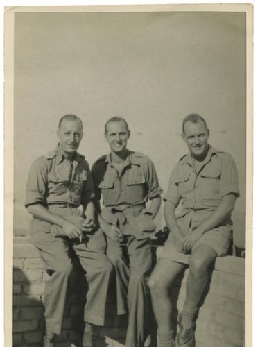 George Porter (left) at Suez 1945.jpg