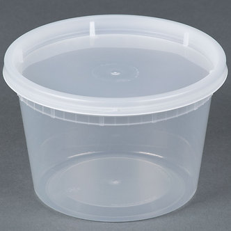 16 OZ CONTAINER (240 CT) Ideal for Shea Butter