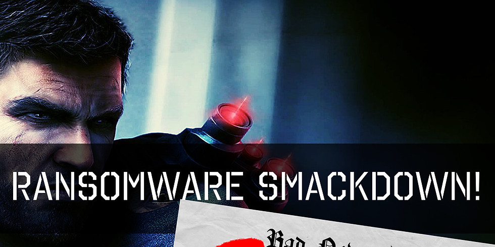 Ransomware Smackdown