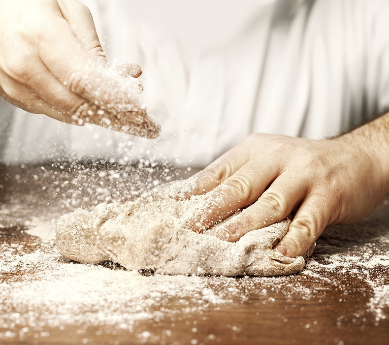 Preparing Dough