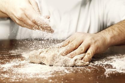Kneeding Dough