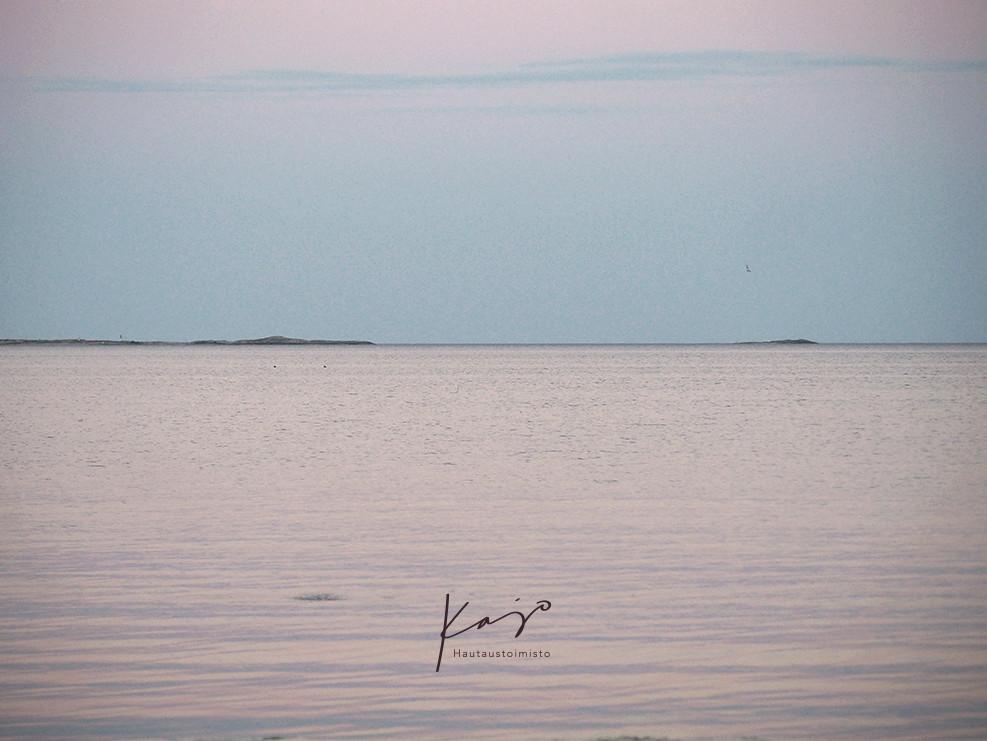 Hautaustoimisto Kajo, Klaukkala, merituhkaus, Uusimaa