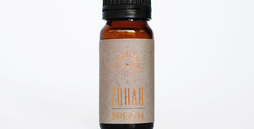 BREATH- שמן למבער מקל על הנשימה
